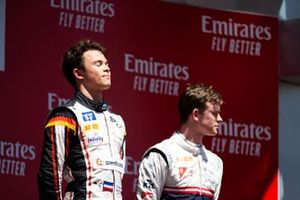 Podium: race winner Nyck De Vries, ART Grand Prix