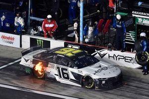 Feuer: Kaz Grala, Kaulig Racing, Chevrolet Camaro Hyperice