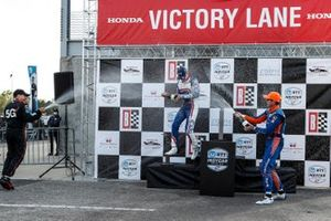 Will Power, Team Penske Chevrolet, Alex Palou, Chip Ganassi Racing Honda, Scott Dixon, Chip Ganassi Racing Honda, Scott Dixon, Chip Ganassi Racing Honda