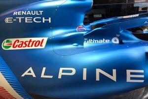 Alpine A521 bodywork detail