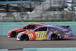 Christopher Bell, Joe Gibbs Racing, Toyota Camry Rheem, Kyle Busch, Joe Gibbs Racing, Toyota Camry M&M's Fudge Brownie