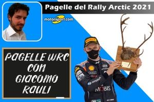 Cover Pagelle Rally Artic 2021