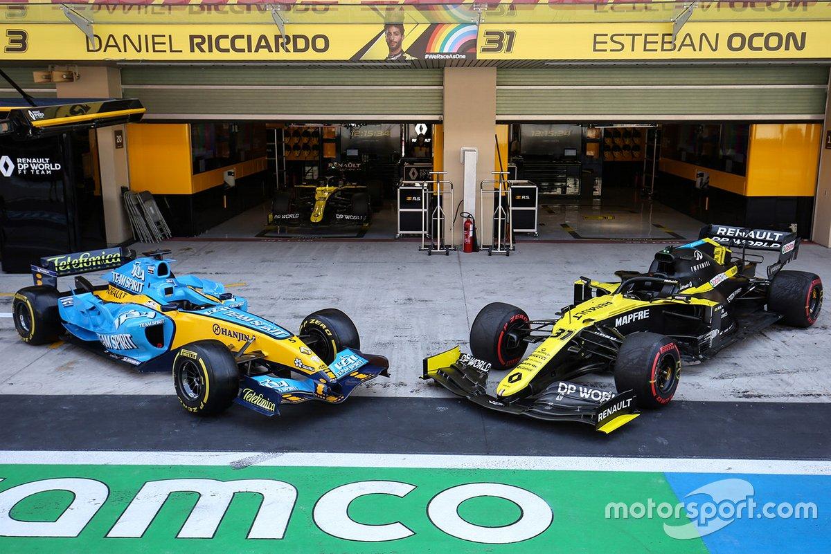 El Renault R25 y R.S.20