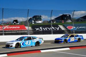 Erik Jones, Richard Petty Motorsports, Chevrolet Camaro Petty's Garage, Daniel Suarez, TrackHouse Racing, Chevrolet Camaro Camping World