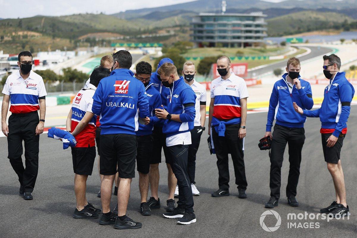 Mick Schumacher, Haas F1, Nikita Mazepin, Haas F1