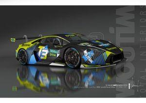 T3 Motorsport Lamborghini Huracan GT3 Evo livery