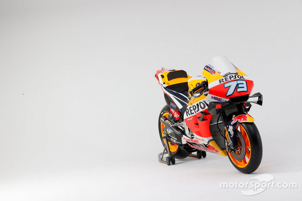 RC213V (Alex Marquez) 2020 fotos de estudio