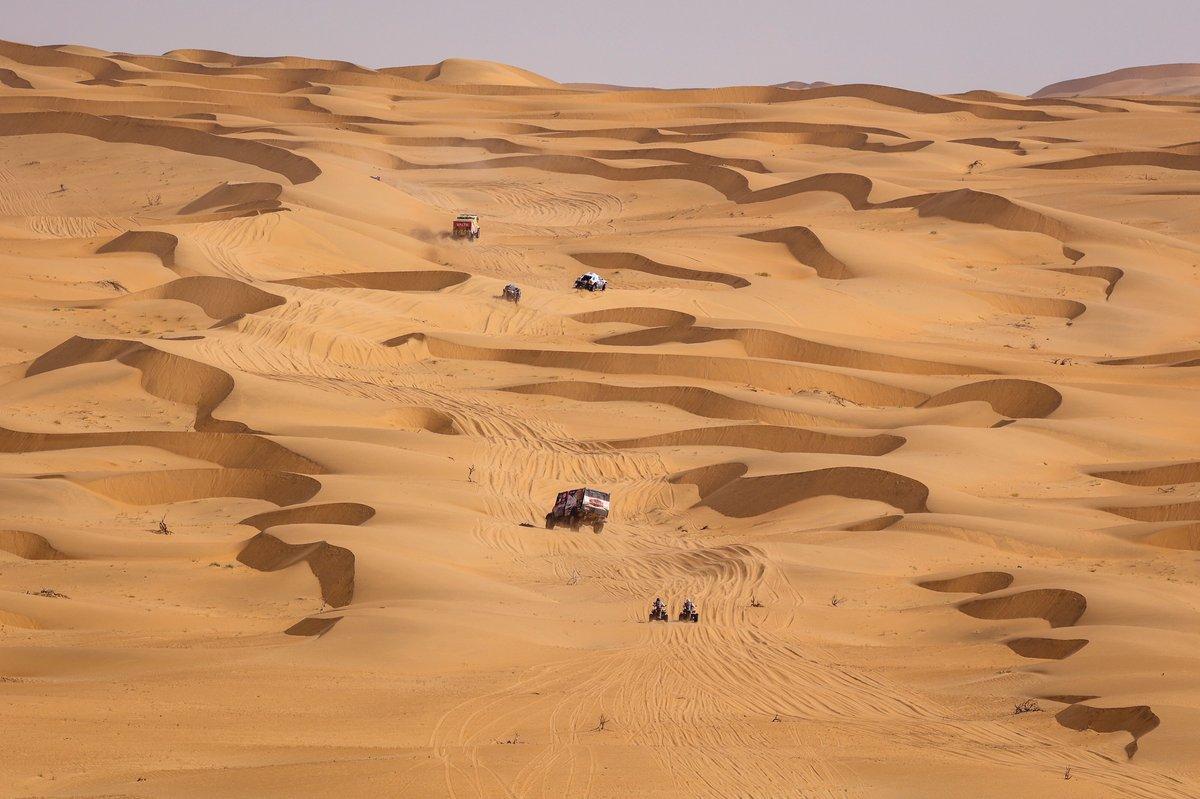 Ambiente de la etapa 2 del Dakar 2021