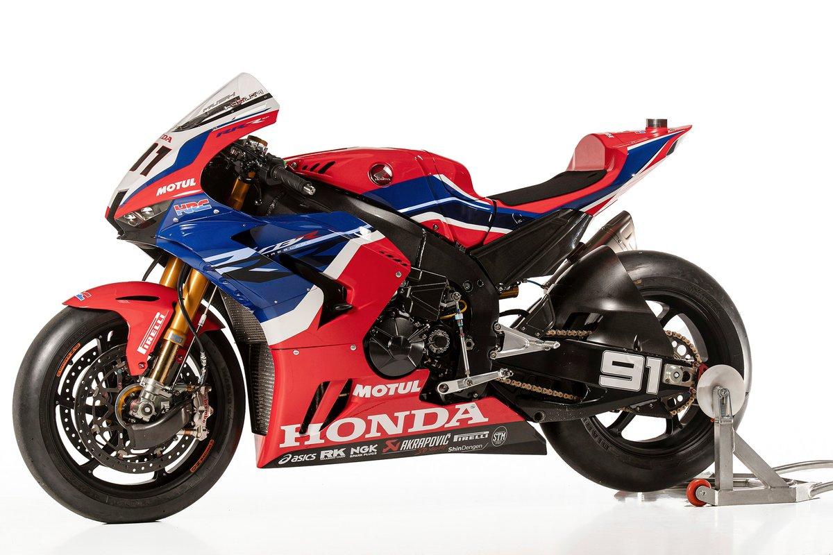 La moto de Leon Haslam, Team HRC