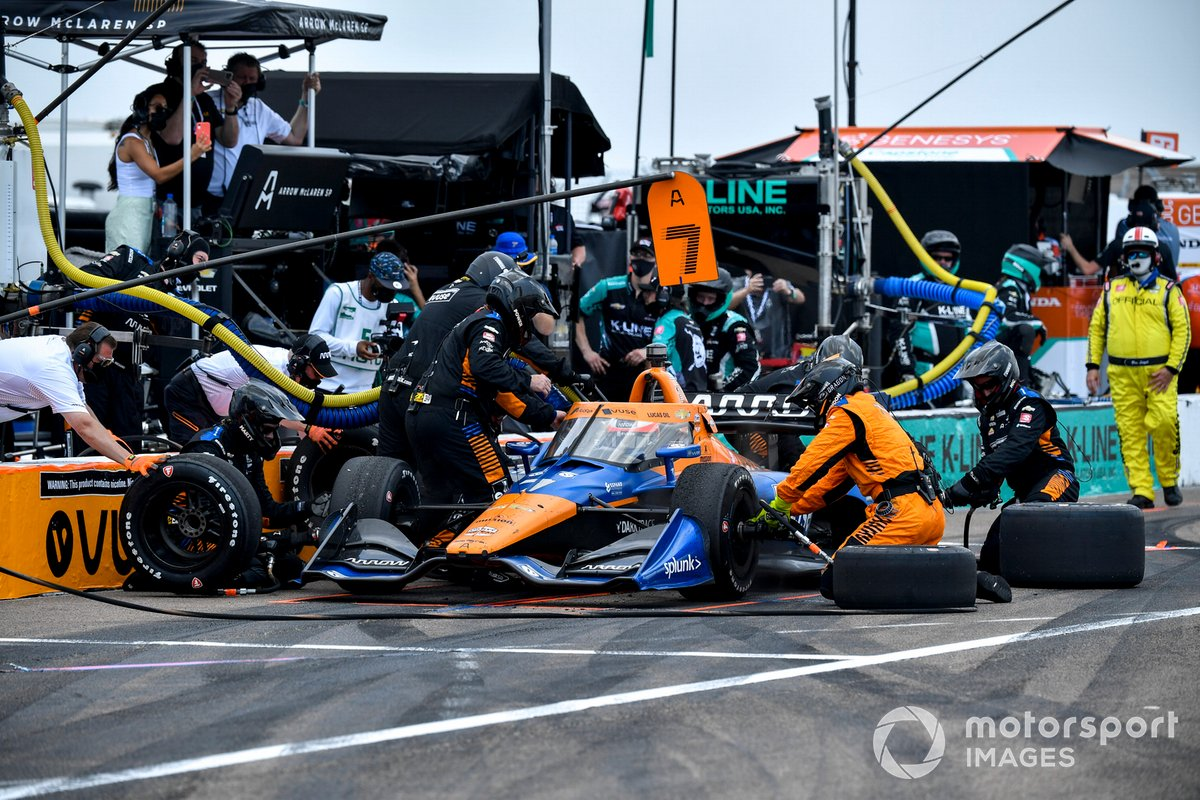 Felix Rosenqvist, Arrow McLaren SP Chevrolet
