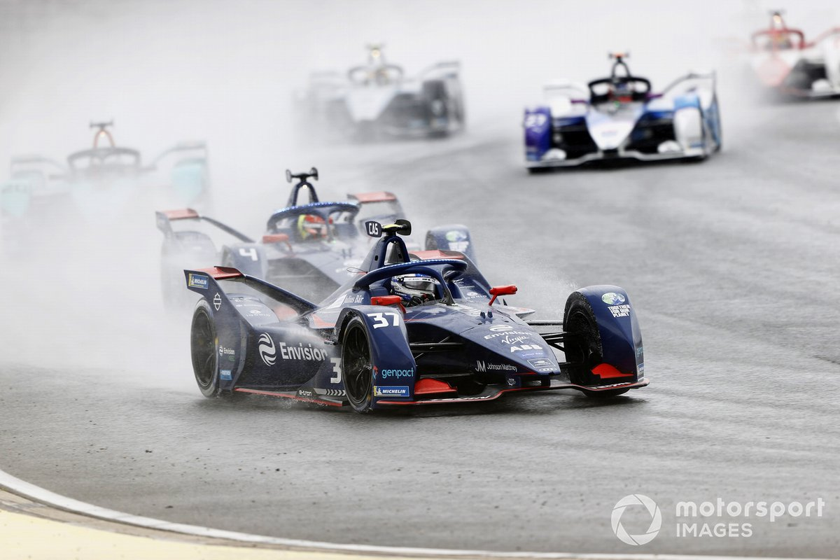 Nick Cassidy, Envision Virgin Racing, Audi e-tron FE07, Robin Frijns, Envision Virgin Racing, Audi e-tron FE07