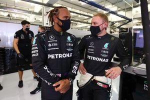 Lewis Hamilton, Mercedes and Valtteri Bottas, Mercedes
