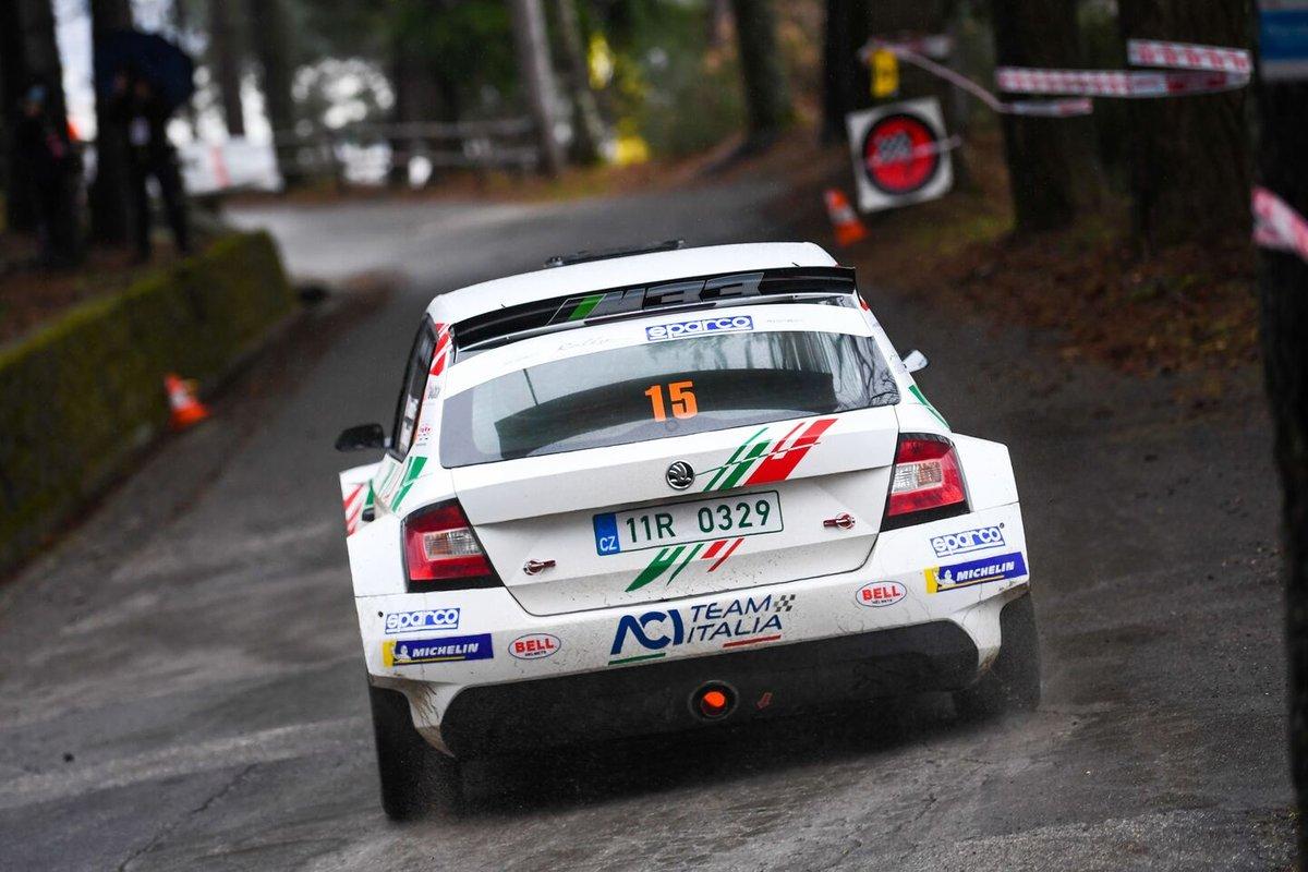 Fabio Andolfi, Stefano Savoia, ACI Team Italia, Skoda Fabia Rally2 Evo