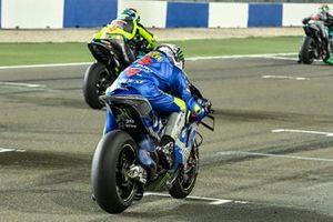 Joan Mir, Team Suzuki MotoGP, Valentino Rossi, Petronas Yamaha SRT