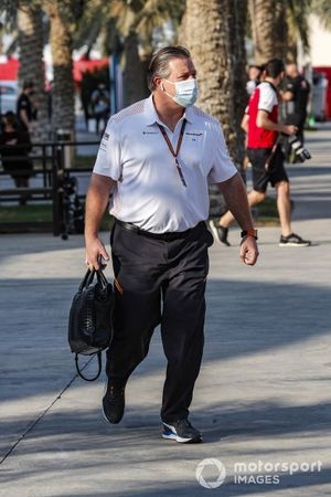 Zak Brown, CEO, McLaren Racing