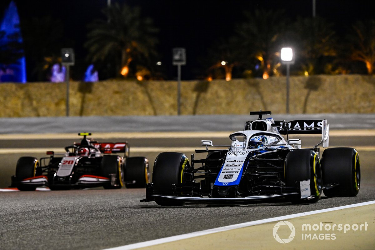 Jack Aitken, Williams FW43, Kevin Magnussen, Haas VF-20