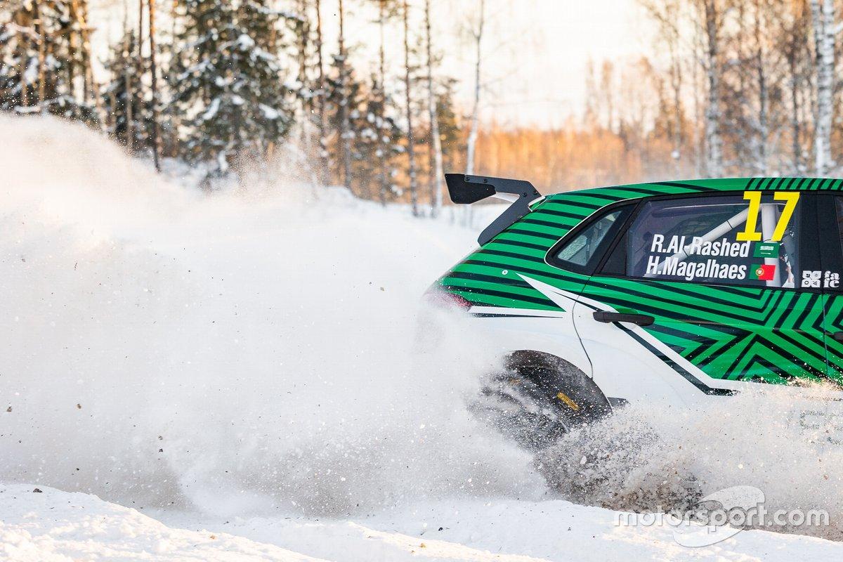 راكان الراشد، رالي فنلندا