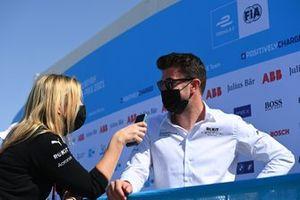Norman Nato, Venturi Racing, is interviewed