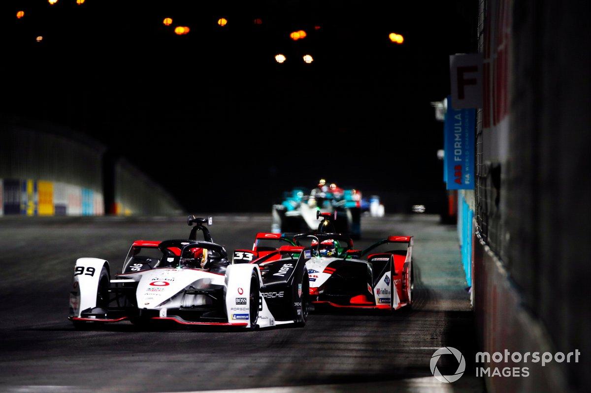 Pascal Wehrlein, Tag Heuer Porsche, Porsche 99X Electric, Rene Rast, Audi Sport ABT Schaeffler, Audi e-tron FE07