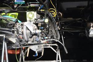 Mercedes F1 W11 side detail