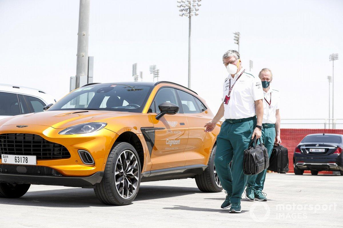 Otmar Szafnauer, director y CEO, Aston Martin F1