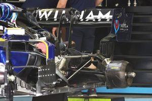 Williams FW43B rear detail