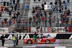 1. Ryan Blaney, Team Penske, Ford Mustang BodyArmor