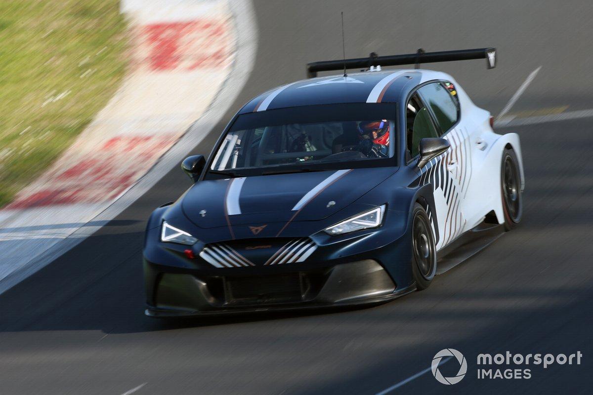Mikel Azcona, Jordi Gené, Cupra Racing, Cupra eRacer