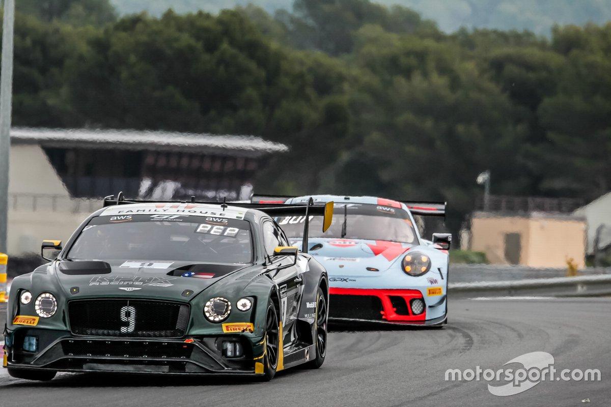 #9 K-Pax Racing Bentley Continental GT3: Jordan Pepper, Alvaro Parente, Andy Soucek