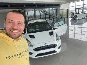 Jakub Brzeziński, Ford Fiesta Rally4