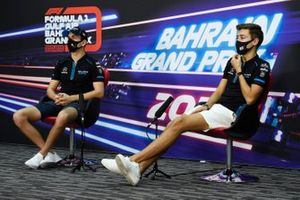 George Russell, Williams Racing and Nicholas Latifi, Williams Racing