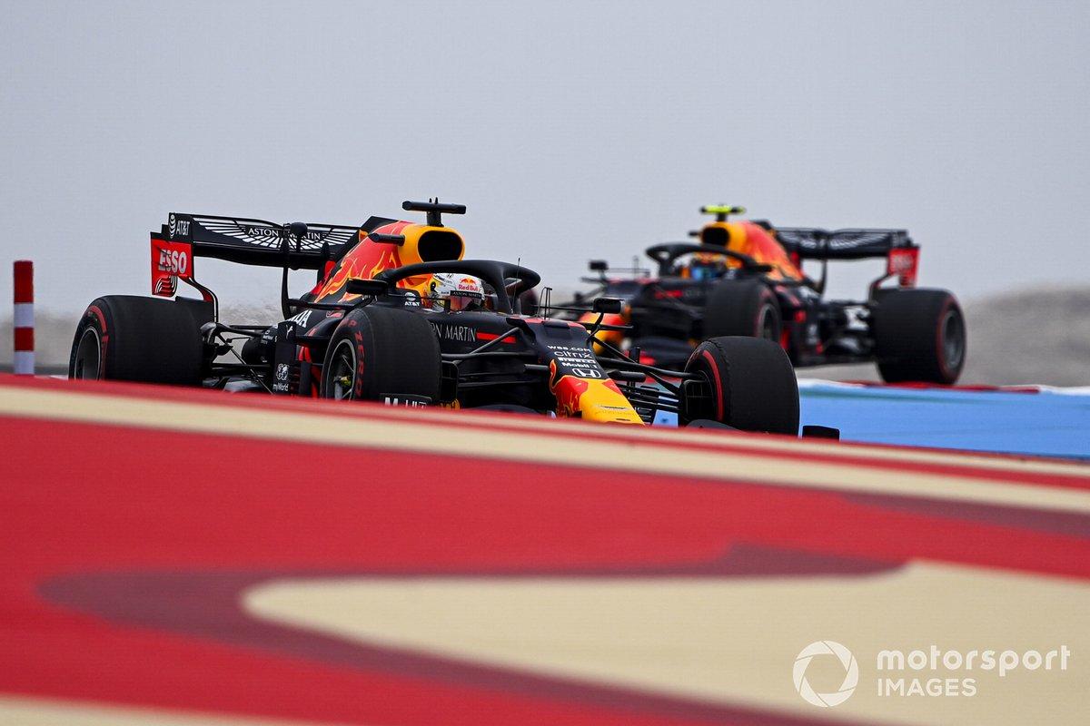 Max Verstappen, Red Bull Racing RB16, Alex Albon, Red Bull Racing RB16