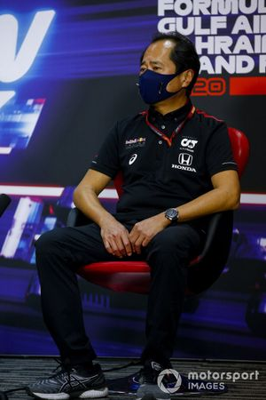 Toyoharu Tanabe, Directeur Technique F1 Honda, en conférence de presse