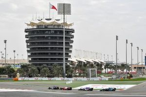 Robert Shwartzman, Prema Racing, Pedro Piquet, Charouz Racing System et Sean Gelael, Dams