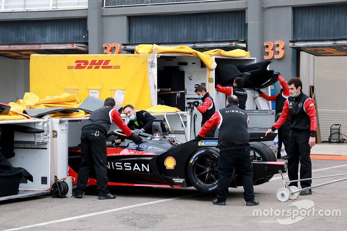 Nissan e.dams team