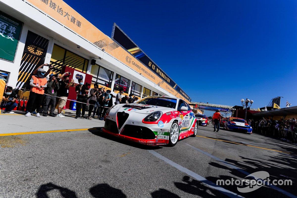 Yiu Lung, Team Endless Sport, Alfa Romeo Giulietta TCR