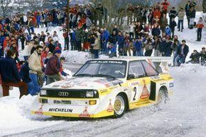 Walter Rohrl, Christian Geistdorfer, Audi Sport Quattro E2
