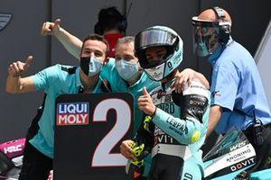 Dennis Foggia, Leopard Racing parc ferme