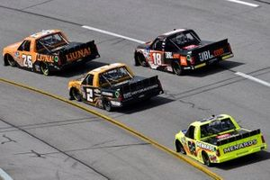 Tyler Ankrum, GMS Racing, Chevrolet Silverado Liuna! and Chandler Smith, Kyle Busch Motorsports, Toyota Tundra JBL