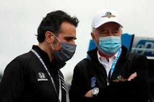 Dario Franchitti und Roger Penske