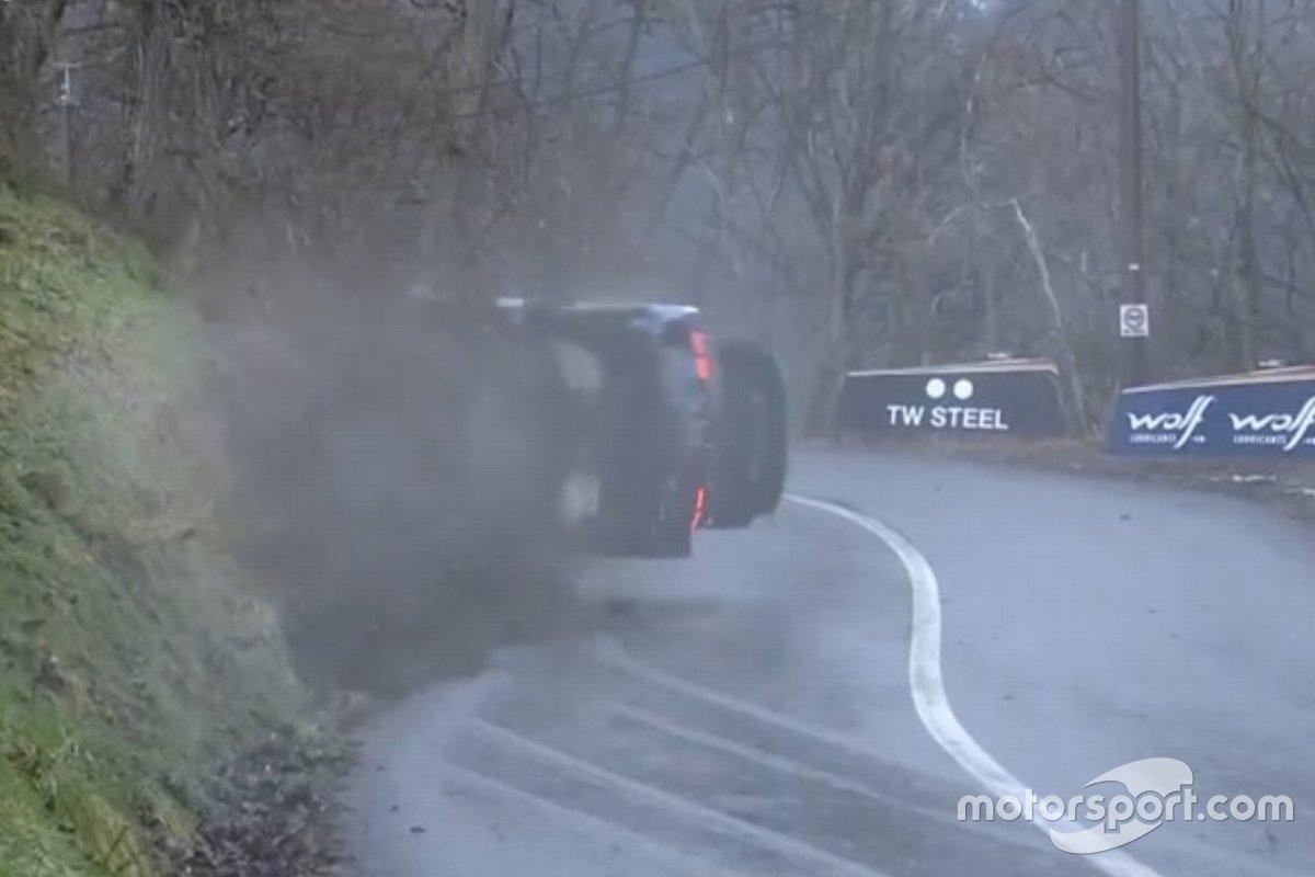 Incidente Teemu Suninen, Mikko Markkula, Ford Fiesta WRC