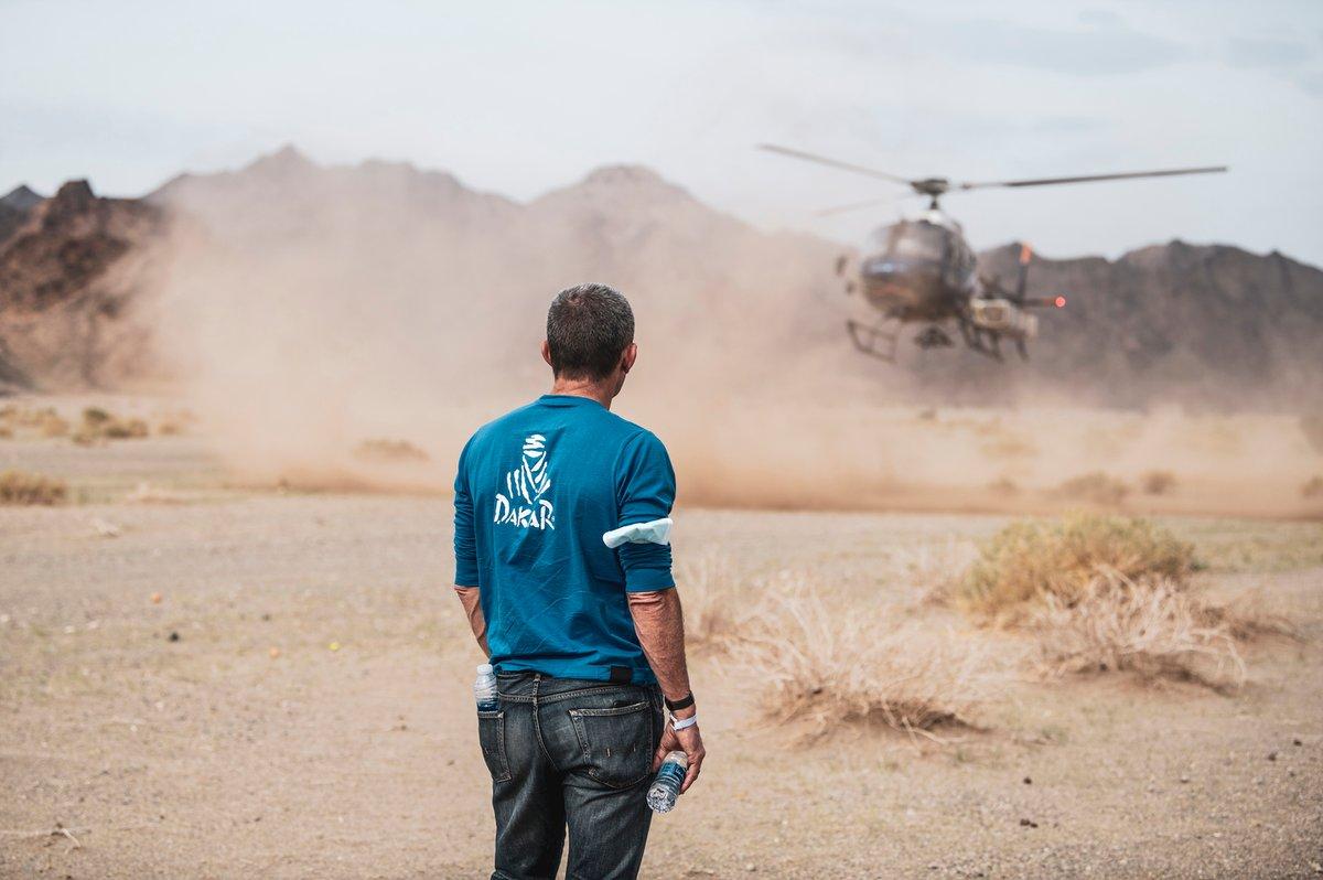 Imagen del Dakar 2021