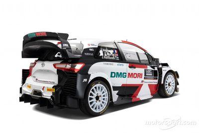 Toyota Yaris WRC 2021 livery unveil