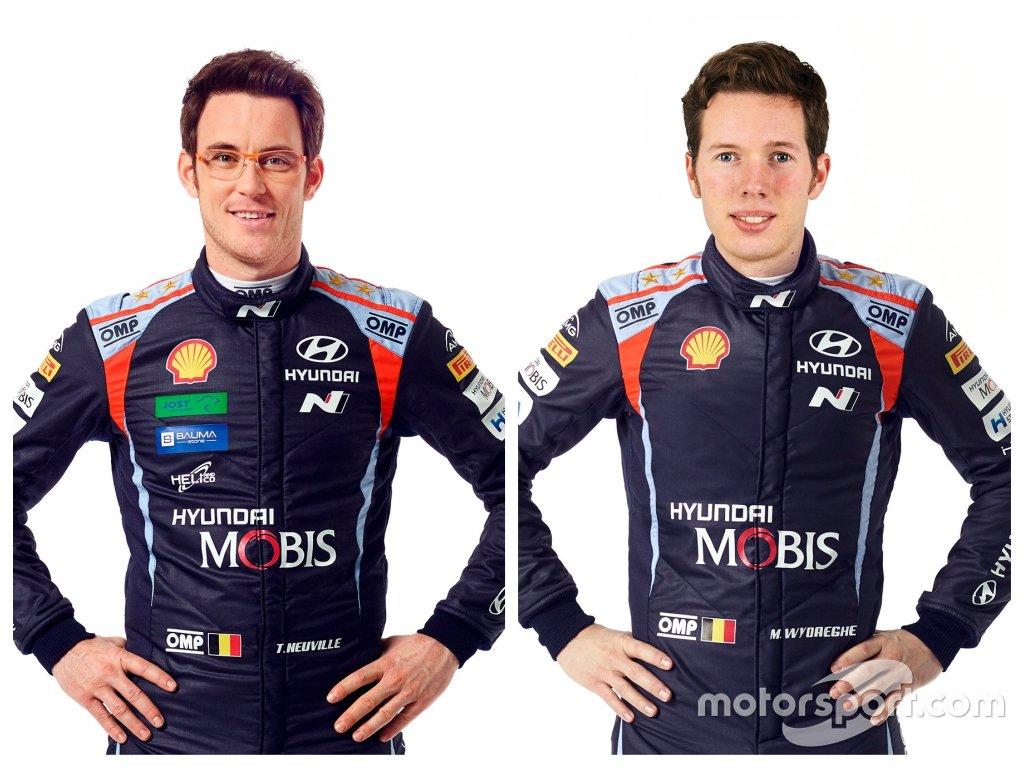 Hyundai Shell Mobis WRT. Экипаж № 11: Невилль – Видеге