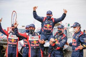 Podium: 1. Stéphane Peterhansel, Edouard Boulanger, 2. Nasser Al-Attiyah, Matthieu Baumel, 3. Carlos Sainz, Lucas Cruz