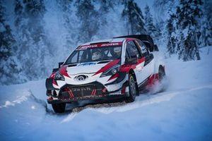 Juho Hänninen, Miika Teiskonen, Toyota Yaris WRC