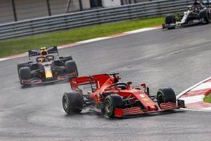 Sebastian Vettel, Ferrari SF1000, Alex Albon, Red Bull Racing RB16