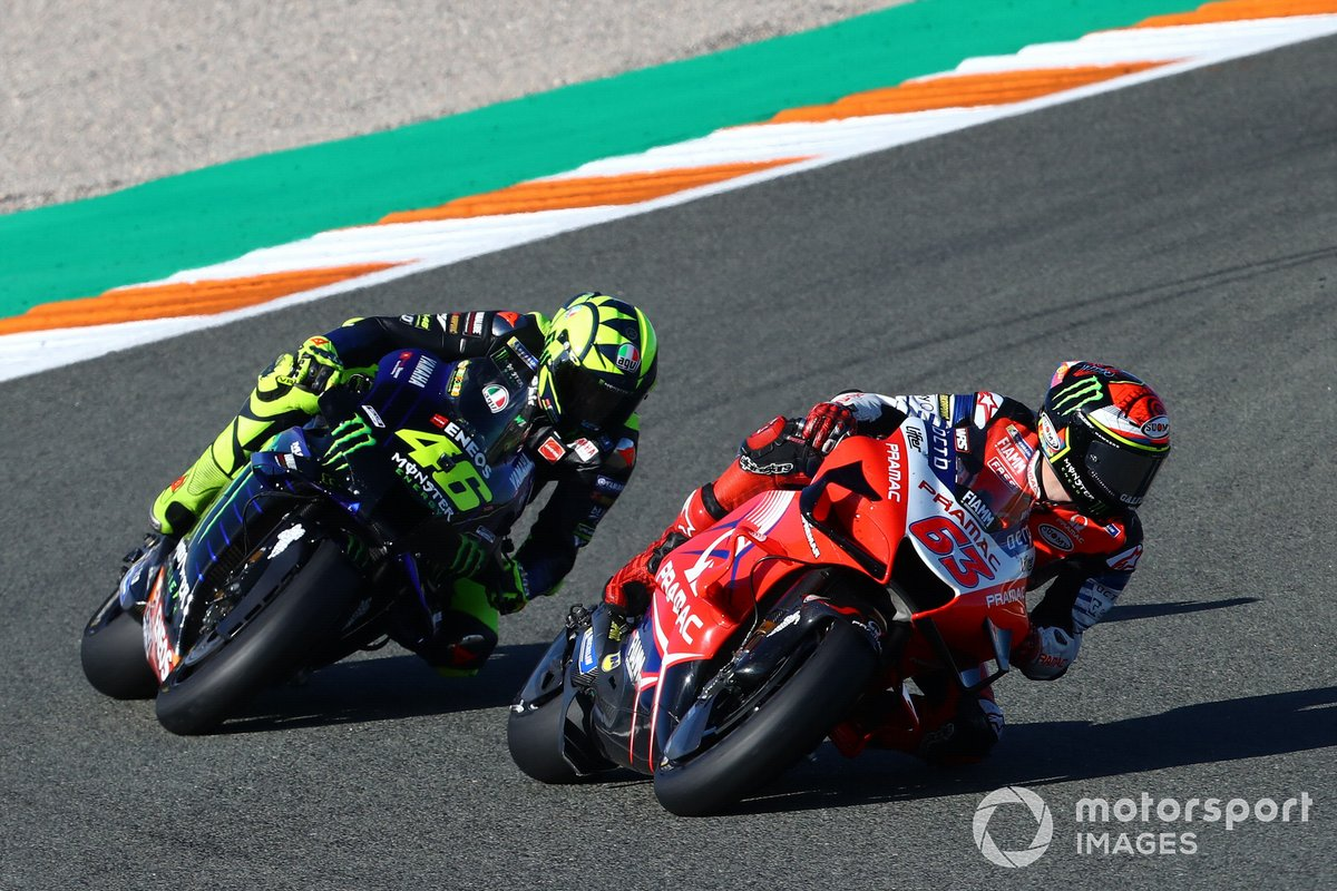 Francesco Bagnaia, Pramac Racing, Valentino Rossi, Yamaha Factory Racing