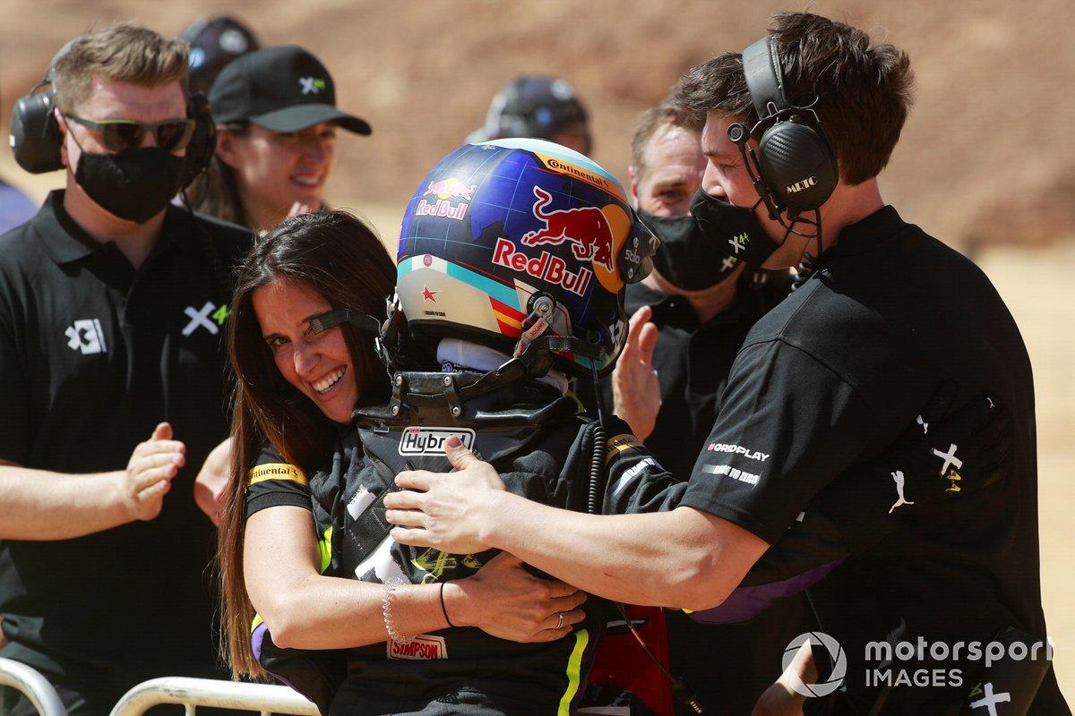 Cristina Gutierrez, X44, con el equipo