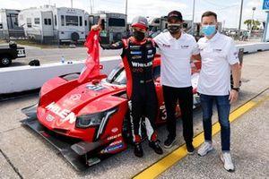 #31 Action Express Racing Cadillac DPi, DPi: Mike Conway, Felipe Nasr, Pipo Derani , IMSA Motul Pole Award for DPI